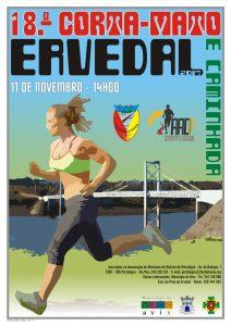 Cartaz 18º Corta-Mato/Caminhada do Ervedal
