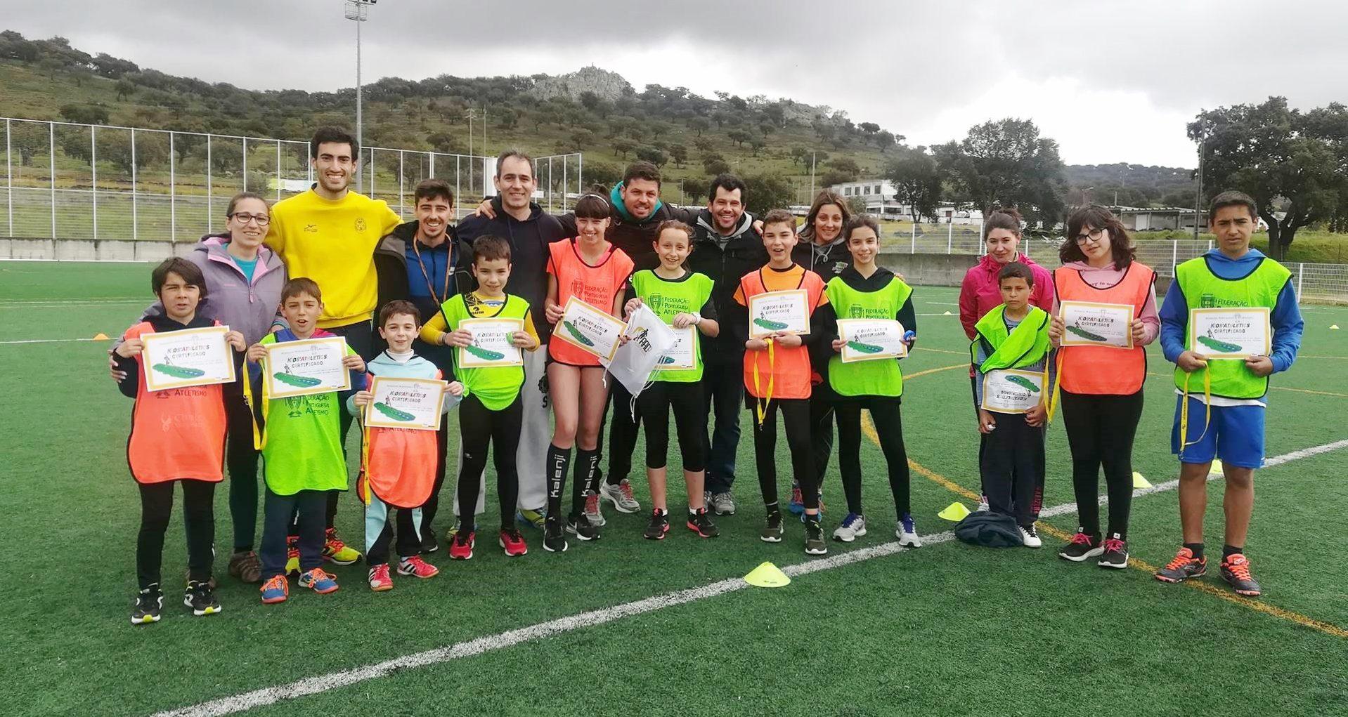 Formação Kids Athletic